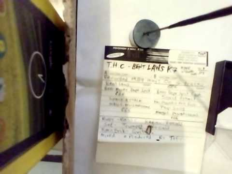 T.H.C,-bent laws kassett-1989. Kafe Strofal