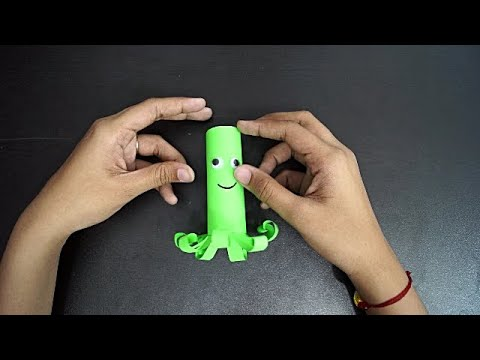 How To Make An Octopus || Paper Craft For Kids || Art & Craft