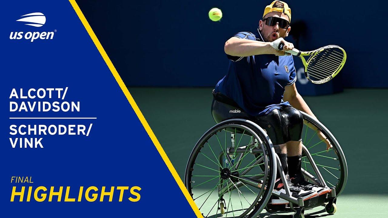 Wheelchair Quad Doubles Final | Alcott/Davidson vs Schroder/Vink Highlights | 2021 US Open