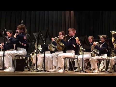 Chanteys District MPA 2017 Deane Bozeman School Symphonic Band