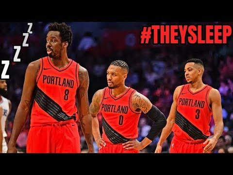 They re Sleeping on the Blazers ONCE AGAIN! - YouTube e6ab1475f