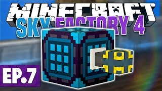 Minecraft Sky Factory 4 - BATH vs SHOWER!? #7 [Modded Questing Skyblock]