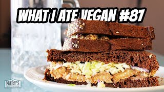 MY GO-TO EASY VEGAN MEALS // WHAT I ATE VEGAN IN A DAY #87 | Mary