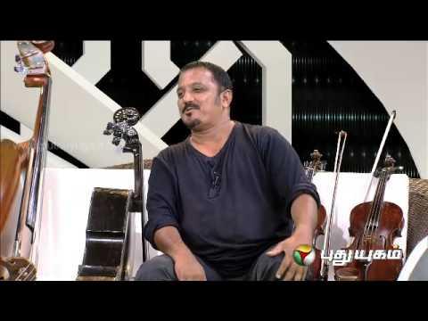 Selvaraj (Cello Artist ) in Arindhathum Ariyathathum (16/03/2014)