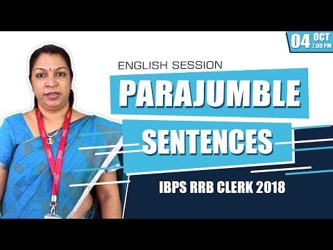 Para-jumble | Rearrangement of Sentences Tricks | English | Ms.Priyakrishnan