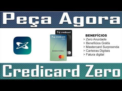 Como pedir o Cartão Credicard Zero (Passo a passo)