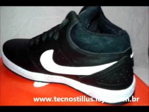 3cc9054beea Tênis Cano Alto Nike Sb - YouTube