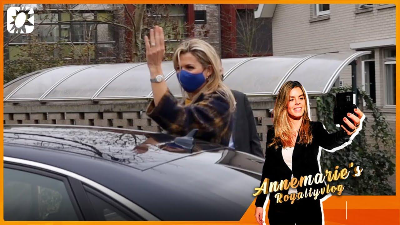 Annemarie's Royaltyvlog: Wat voor mondkapjes draagt koningin Máxima?