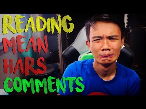 READING MEAN/HARSH COMMENTS - #PINOY