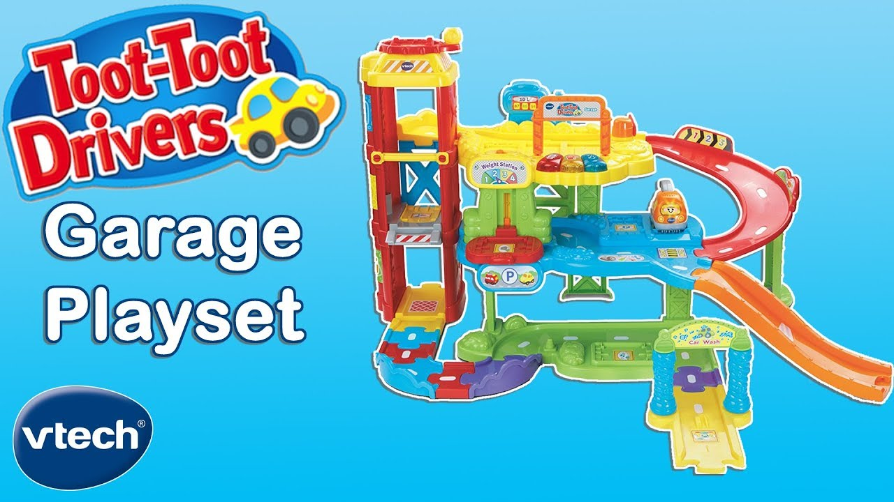 Vtech Toys Uk Toot Toot Drivers Garage Toys For Kids Youtube