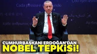 """Cumhurbaşkanı Erdoğan: """"Nobel Kendini Tüketmiş, Bitirmiştir"""""""