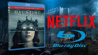 Netflix releases another physical media title with the haunting of hill house, and i talk new my thoughts on joker circus surround...