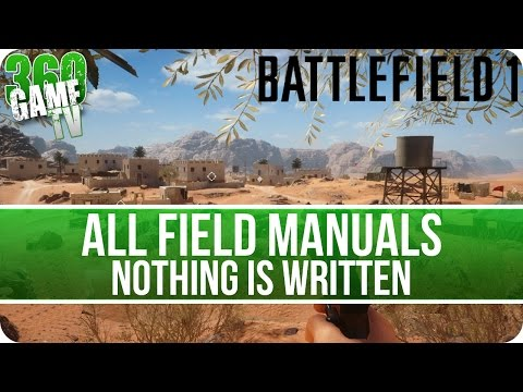 Battlefield 1 All Field Manuals - Nothing is Written - Collectibles Guide