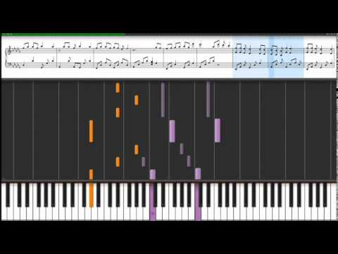 Simple Plan  Im Just a Kid Synthesia Piano Tutorial
