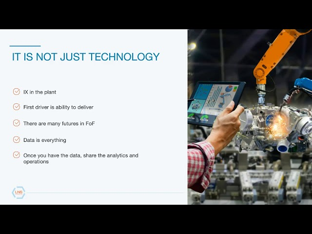 Webinar: Optimizing the plant for Industrial Transformation