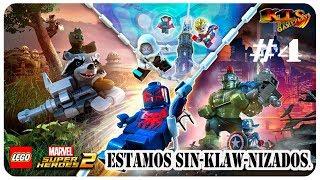 LEGO Marvel Super Heroes 2.  #4: Estamos sin-Klaw-nizados. [Modo historia]
