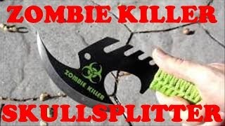 Zombie Killer Skullsplitter Throwing Axe - Show & Tell