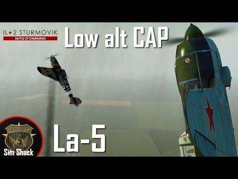 Low alt Close Air Patrol | La-5(F) - IL-2: Battle of Kuban