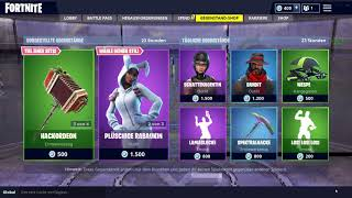 NEW Fortnite /ITEM SHOP 29.09.2018/Rabbit Raider, Bunny Brawler Heidi, Ludwig Skins