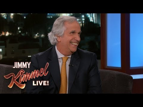 Henry Winkler on Emmy Win, Fonzie & Barry