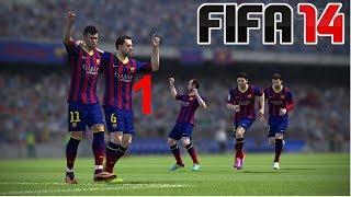 ALIEN | FIFA 14 | CZ Gameplay | EP.1 | Real Madrid vs. FC Barcelona