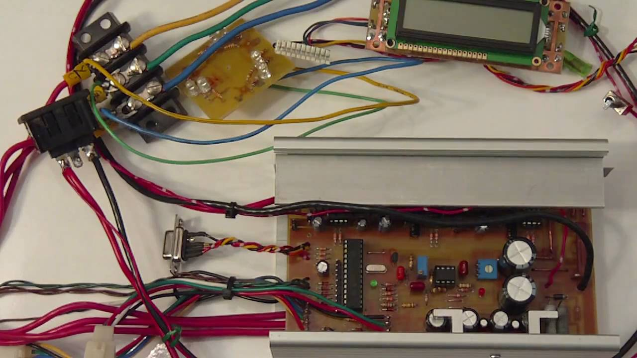Home Made Bldc Hub Motor Speed Controller Project Progress Update Control Circuits Projects Sept 26 2010 Youtube
