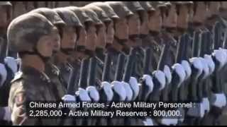 Chinese Armed Forces vs American Armed Forces - Comparison