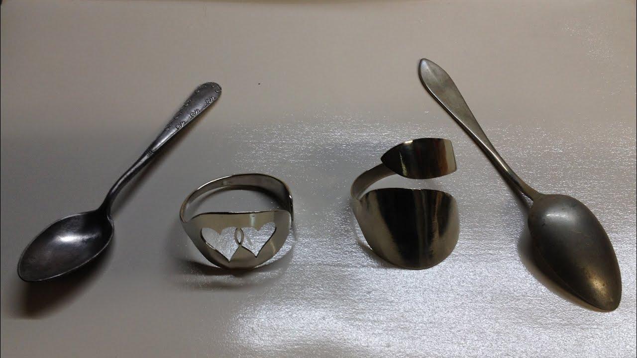 Como hacer pulsera con tenedor o cuchara pulsera youtube for Pulsera tenedor