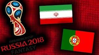 2018 RUSSIA FANTASY VB | IRÁN - PORTUGÁLIA