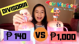 DIVISORIA VS TOY KINGDOM! (LOL SURPRISE) FAKE VS REAL LOL SURPRISE! | YESHA C. 🦄