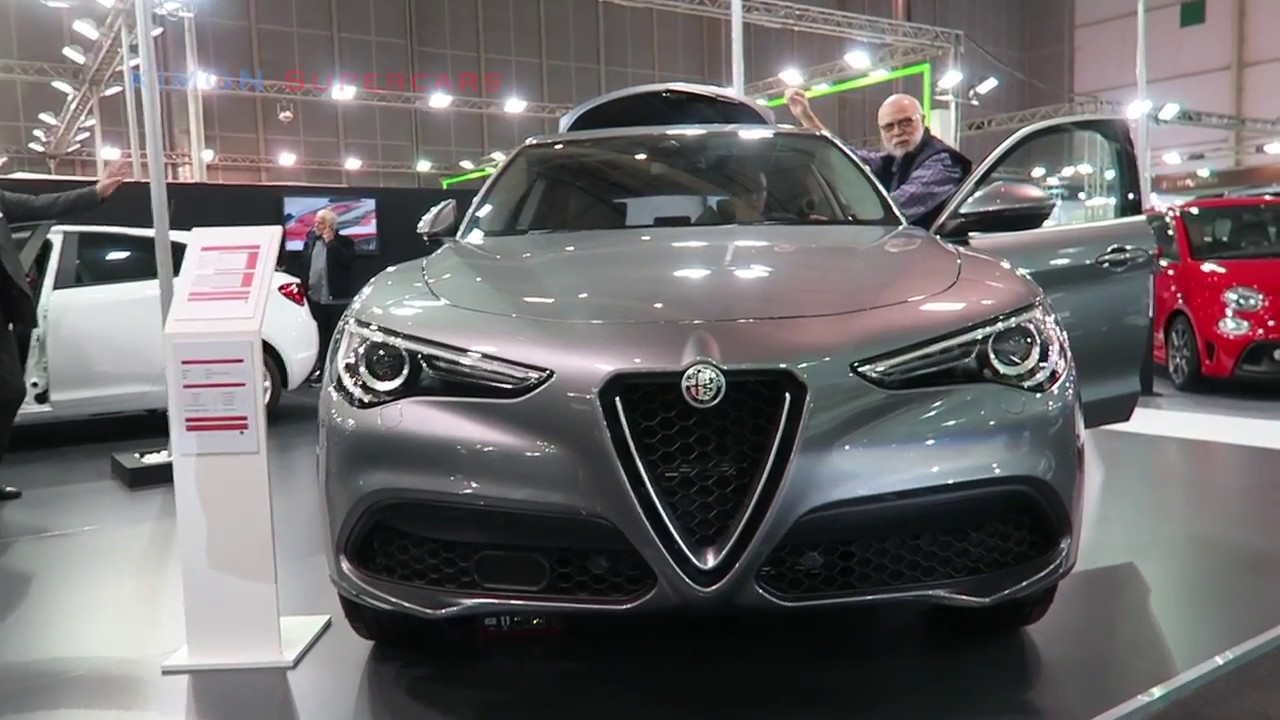 New 2019 Alfa Romeo Stelvio Exterior Interior Youtube