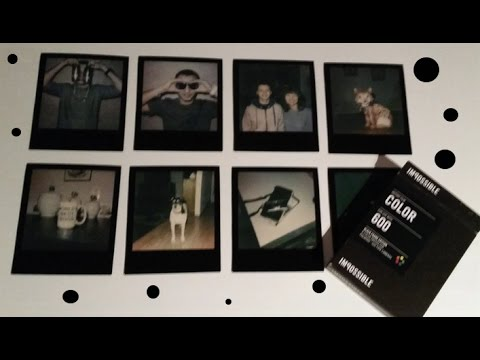 Impossible Project Color Film and Black Frames Review