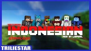 YTBER INDONESIA DI MINECRAFT! | Youtubers Indonesia Mod | Minecraft Mod Showcase