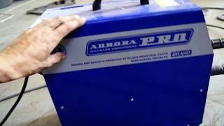 AuroraPRO OVERMAN 180 сварка алюминия