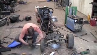 Building a scooter based trike