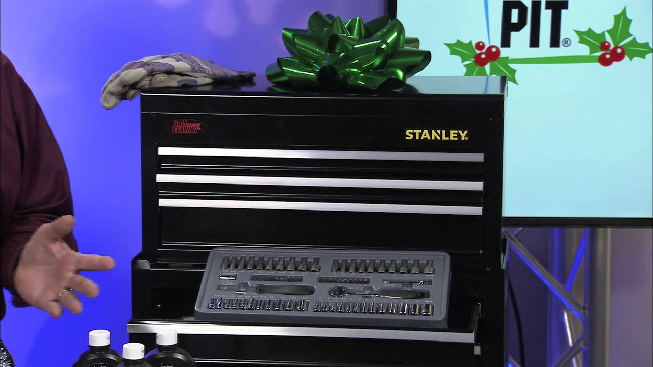Stanley Mechanics Tool Rolling Cabinet Makes Great Holiday Gift Under $100