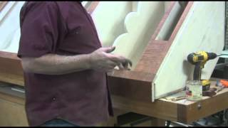 Part 28: Corner Cabinet Series From Mastering Woodworking With Charles Neil
