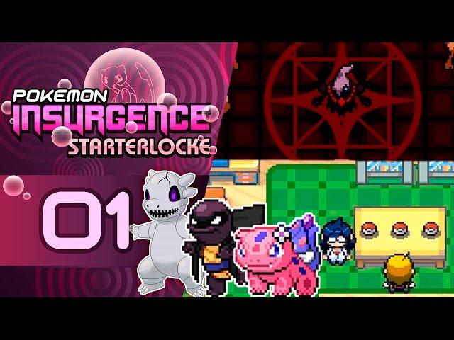 Pokémon Insurgence Starterlocke Ep.1 - 3 INICIALES BRUTALES Y UN INICIO EPICO!