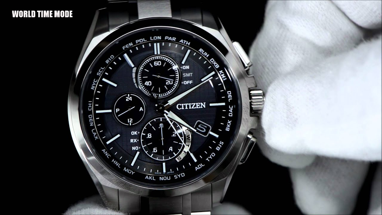 CITIZEN ATTESA DIRECT FLIFHT AT8040(cal.804)series 解説動画 ...