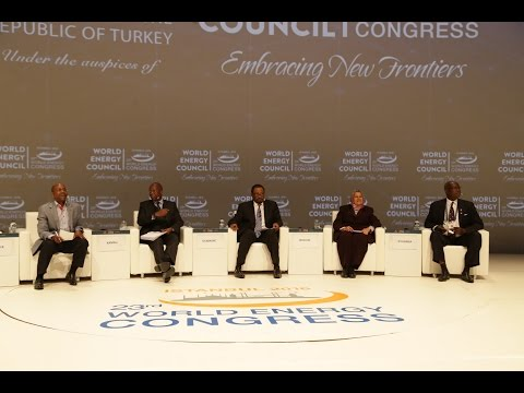 Empowering Africa / Day 4 Opening Session World Energy Congress Istanbul 2016
