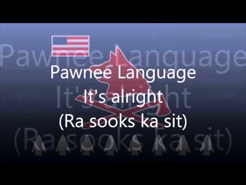 Pawnee Language (Tom E Knife Chief) - It's Alright