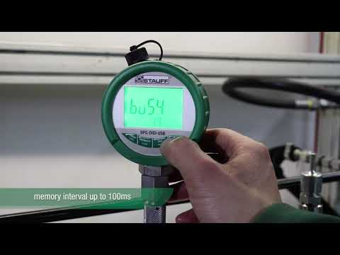 Digital Pressure Gauge With Data Logger And USB Interface