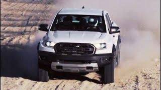 สีขาว! 2018 Ford Ranger Raptor โชว์พละกำลังขับเคลื่อนในโหมด Baja (บาฮา) ในทะเลทราย