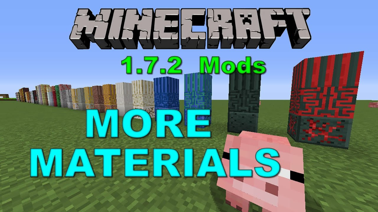 how to get materials in minecraft