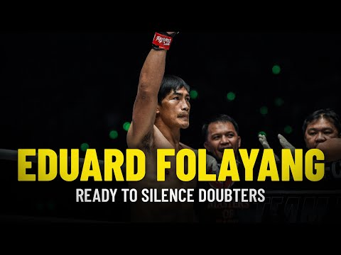 Eduard Folayang Ready To Silence Doubters: 'I'm Not Done Yet'