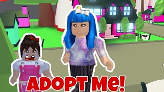 Adopt Me! I'm A Bad Mom! Playing Roblox Adopt Me With My Mom!