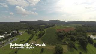Aerial video tour of Charlottesville, VA and UVA