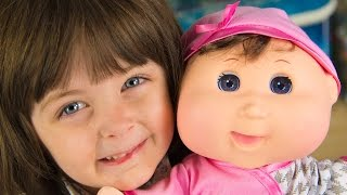 NEW Cabbage Patch Kids Baby So Real Toy Baby Doll for Girls & Babies Kinder Playtime
