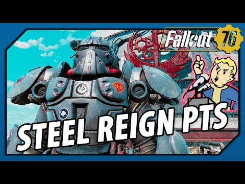 Fallout 76 – How to PREPARE for LEGENDARY CRAFTING in Steel Reign (PTS Update)