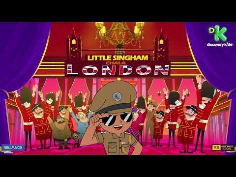 Official Motion Poster | Little Singham Chala London| New Blockbuster Movie